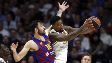 Euroliga koszykarzy: Szaleństwo w Madrycie. Real lepszy od Barcelony