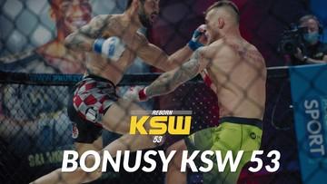 KSW 53: Organizacja przyznała bonusy