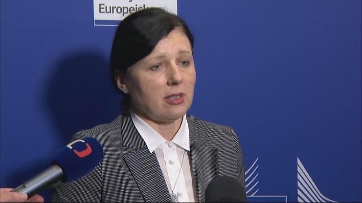 Jourova: nie powinniśmy się wzajemnie zaskakiwać. Nie zgodziliśmy się we wszystkich kwestiach