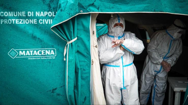 Smutny rekord we Włoszech. Najwięcej ofiar Covid-19 w Europie