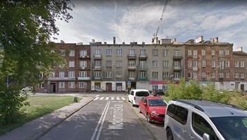 Runęła klatka schodowa kamienicy w Warszawie