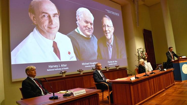 Ogłoszono laureatów Nagrody Nobla 2020 w dziedzinie medycyny