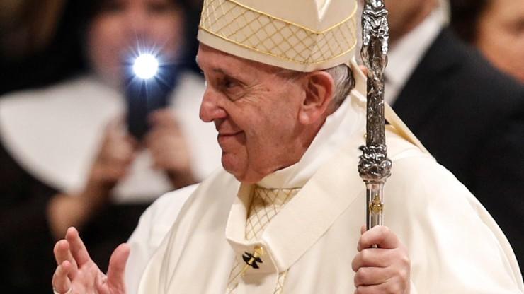 Franciszek: zło przejawia się w gender