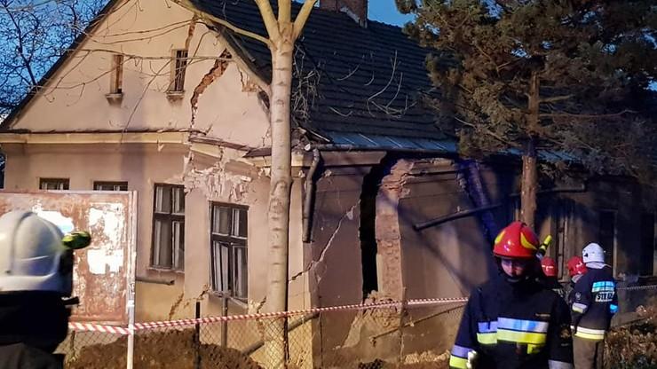 Cieszyn: zawaliła się część budynku dawnego przedszkola