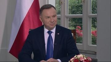 Duda: Polska walczy o świat bez dominacji jednych państw nad drugimi
