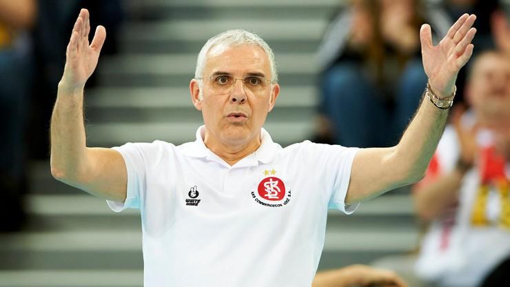 Trener Cuccarini przedłużył kontrakt z ŁKS Commercecon Łódź