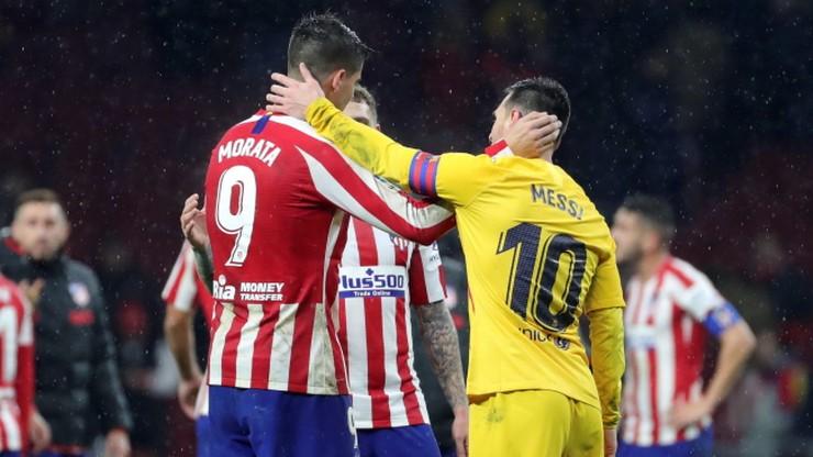 Barcelona pokonała Atletico Madryt i powróciła na pozycję lidera