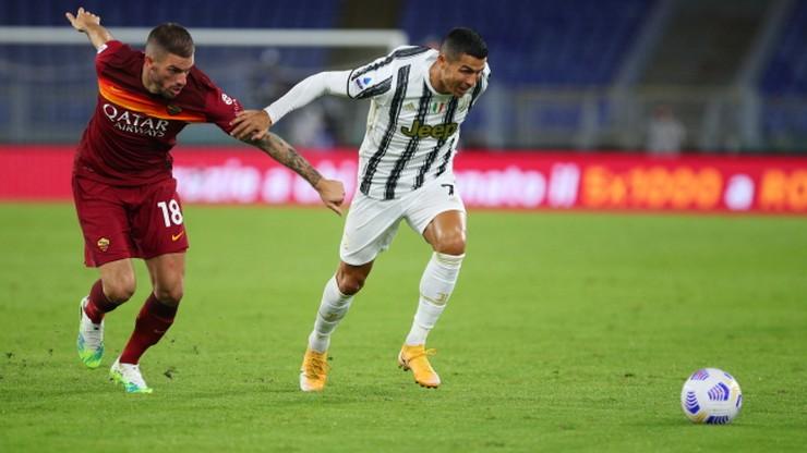Serie A: Remis Juventusu w Rzymie. Dublet Cristiano Ronaldo