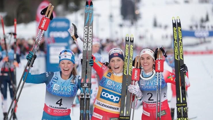 PŚ w biegach: Johaug wygrała bieg łączony na 15 km w Lillehammer
