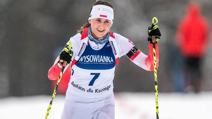 MEJ w biathlonie: Udane występy Jakieły w Hochfilzen