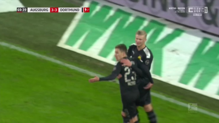 Hat-trick Haalanda w debiucie dla Borussii Dortmund! [ELEVEN SPORTS]