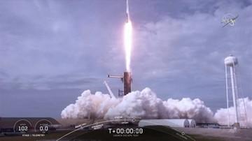 Ostatni test przed załogowym lotem statku SpaceX. Rakieta Falcon 9 zniszczona [WIDEO]
