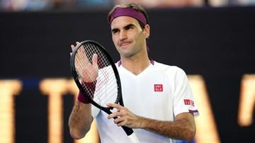 Federer wciąż to ma! Tenisista pokazał sztuczki (WIDEO)