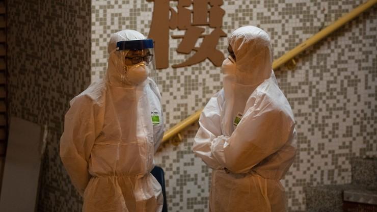 W Hongkongu obawy o przeniesienie koronawirusa przez... kanalizację