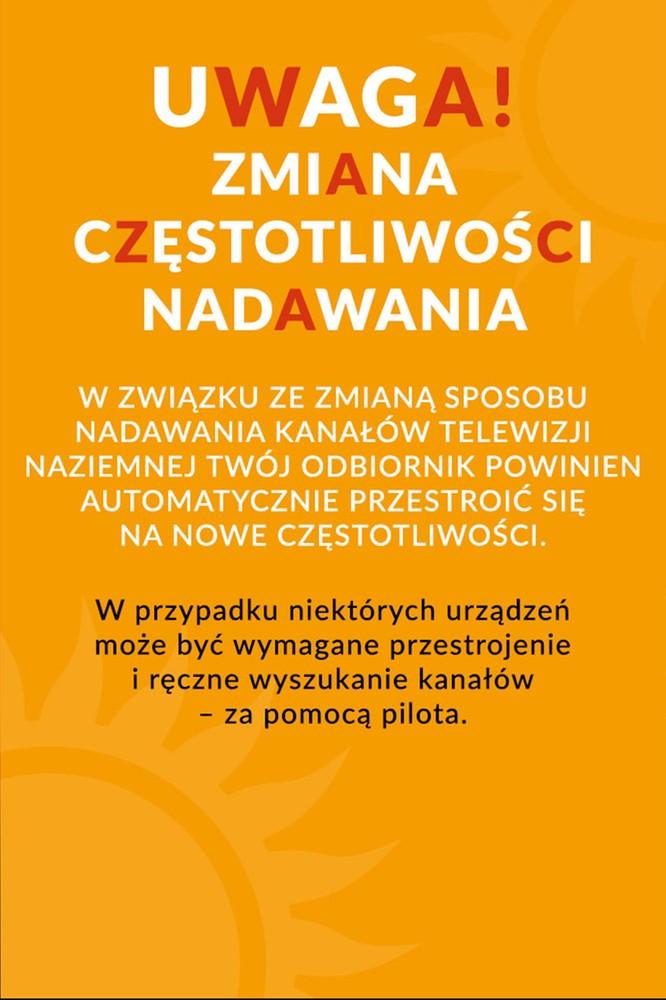 2020-06-03 Informacja dla widzów cyfrowej telewizji naziemnej - PolsatCafe.pl