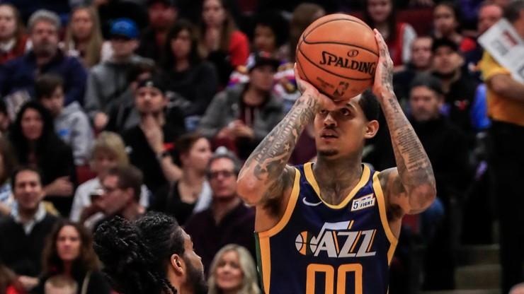 """NBA: """"Jazzmani"""" znów dali koncert, zaskakujące zwycięstwo Nuggets"""