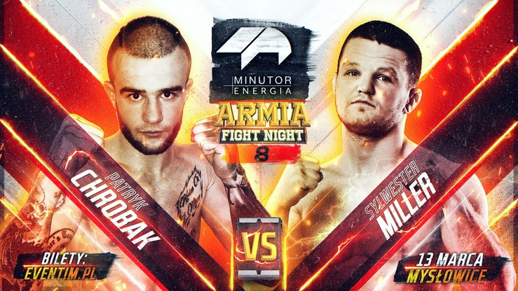 Minutor Armia Fight Night 8: Miller - Chrobak w karcie walk
