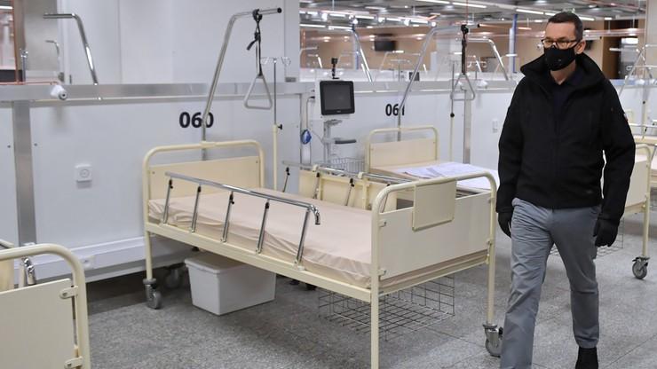Państwowe spółki zbudują szpitale. Nocne decyzje premiera