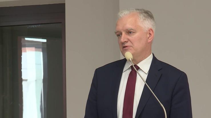 """Zmiany w rządzie i przyszłość Porozumienia. Jarosław Gowin w """"Gościu Wydarzeń"""""""