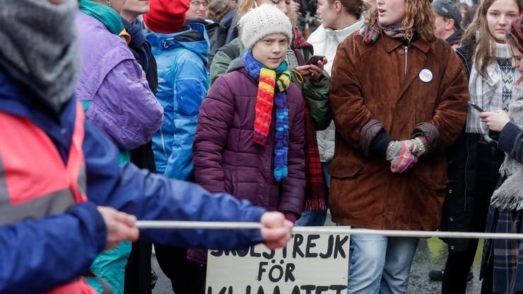 Strajk klimatyczny online. Decyzja Grety Thunberg