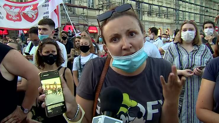 """Pomóżcie nam Polacy"" - apel Białorusinki"