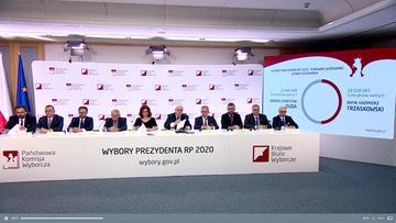 Sprawozdanie PKW o wyborach prezydenckich