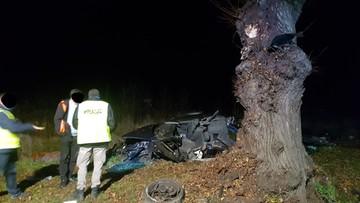 Tragiczny wypadek na Lubelszczyźnie. Nie żyje dwóch 19-latków