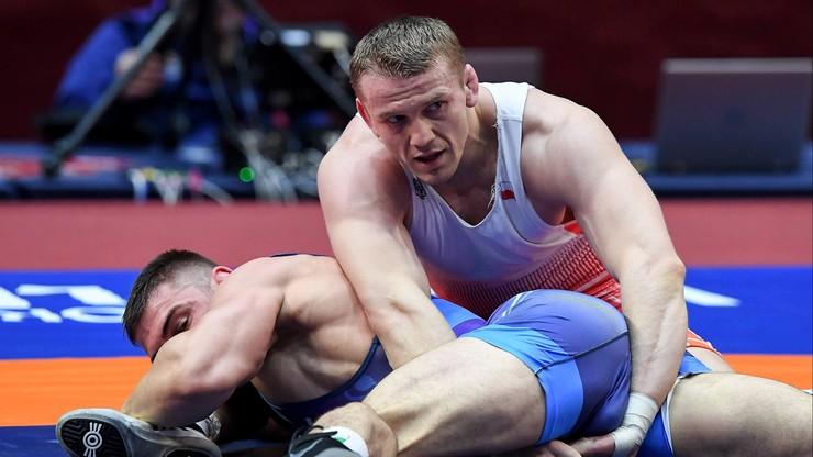 ME w zapasach: Marcinkiewicz stracił szansę na medal