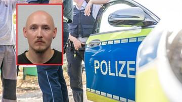 """""""Rambo"""" rozbroił czterech policjantów i uciekł do lasu. Obława w Niemczech"""