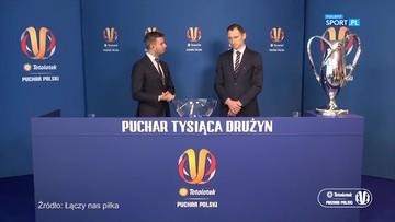 Losowanie par półfinałowych Totolotek Pucharu Polski