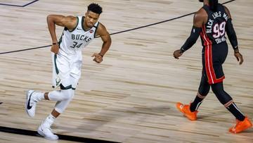 Milwaukee Bucks przegrali z Miami Heat pierwszy mecz półfinału Konferencji