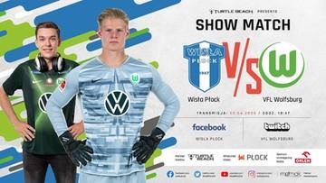 Wisła Płock zagra z Wolfsburgiem. Na wirtualnym boisku