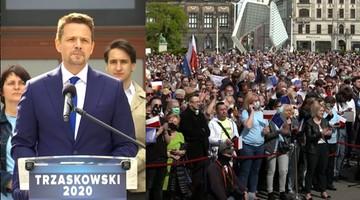 Trzaskowski: nie będę prezydentem totalnej opozycji