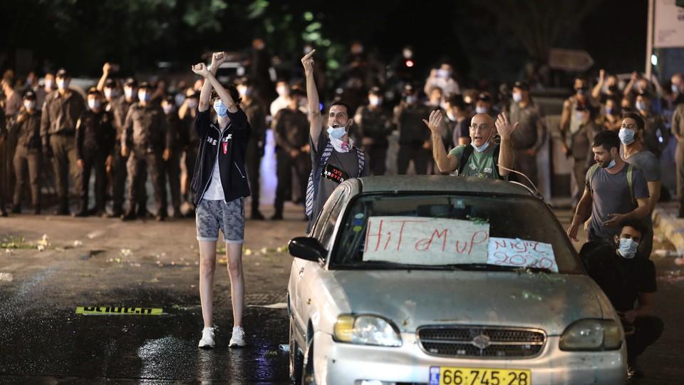 Protesty w Jerozolimie