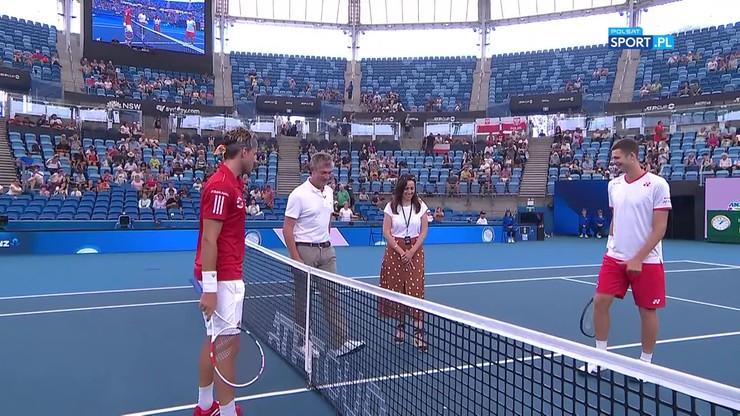 ATP Cup: Hurkacz - Thiem 2:1. Skrót meczu
