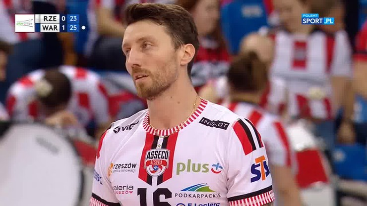 Asseco Resovia Rzeszów - Verva Warszawa Orlen Paliwa 1:3. Skrót meczu