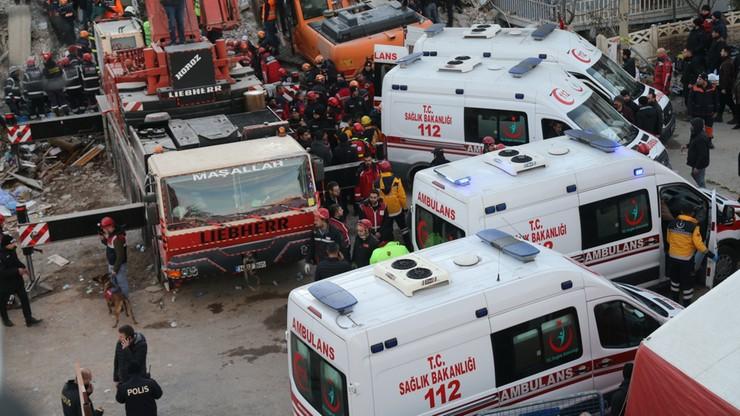 Trzęsienie ziemi w Turcji. Podano aktualną liczbę ofiar, polski prezydent złożył kondolencje