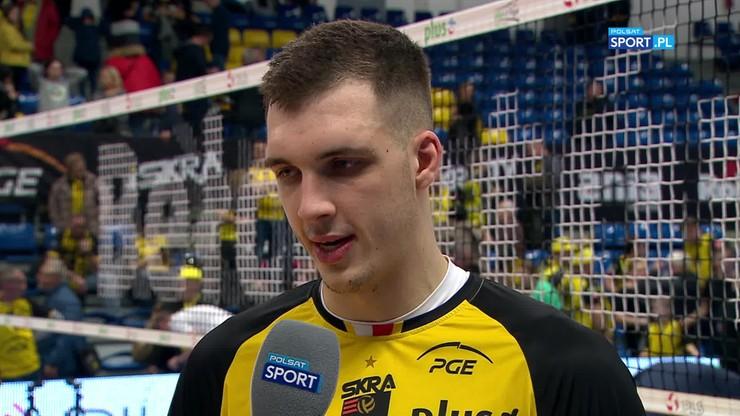 Huber: Cieszę się, że mogłem zagrać w tym meczu