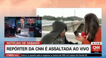 Reporterka okradziona na wizji. Napastnik groził jej nożem