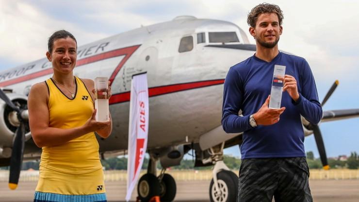 Turniej w hangarze. Anastasija Sevastova i Dominic Thiem najlepsi