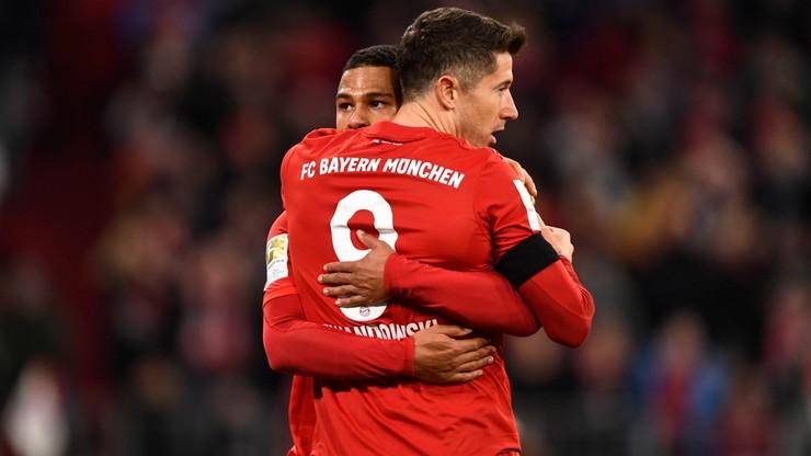 Liga Mistrzów: Gnabry podziękował Lewandowskiemu za wypracowanie goli