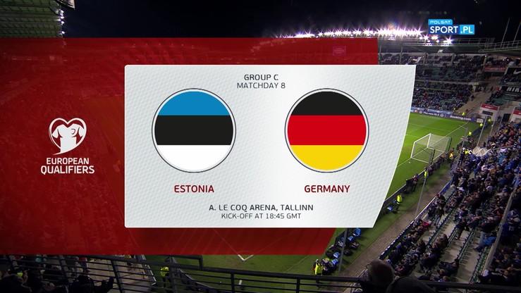 Estonia - Niemcy 0:3. Skrót meczu