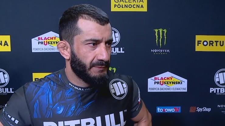 Mamed Khalidov przed KSW 55: Jestem tu po to, by wrócić i wygrywać