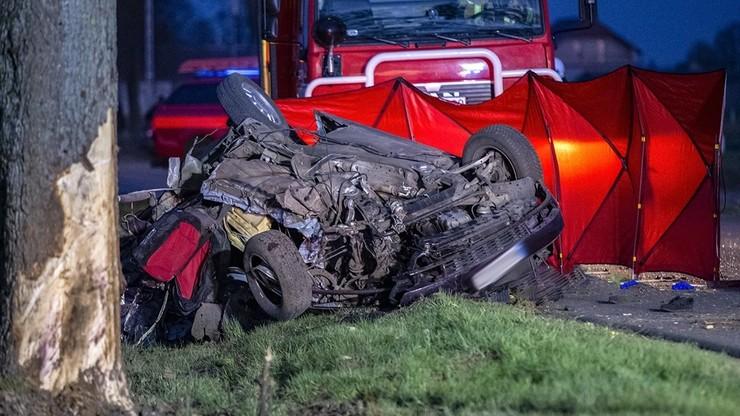 Tragiczny wypadek pod Ostrołęką. Zginęły trzy młode osoby