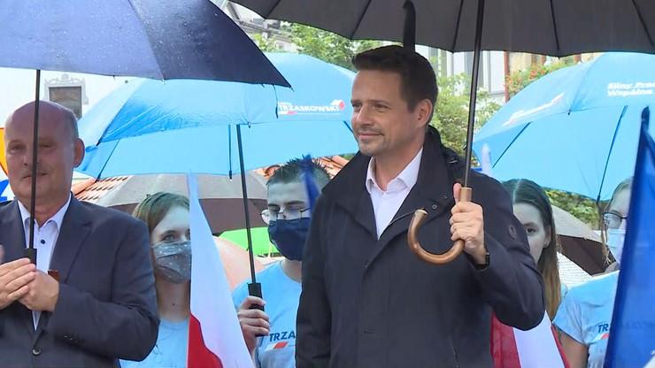 Trzaskowski: odpowiadam na trudne pytania, a Duda spotyka się tylko ze zwolennikami