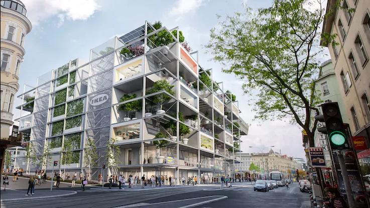 Zamiast parkingu... drzewa. IKEA stawia na ekologię