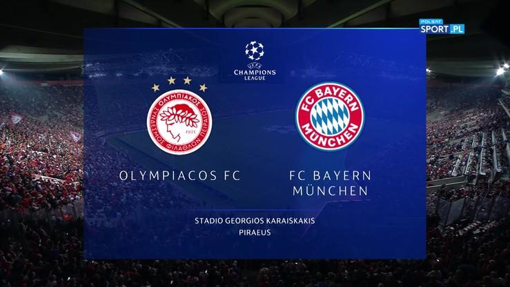 Olympiakos - Bayern Monachium 2:3. Skrót meczu