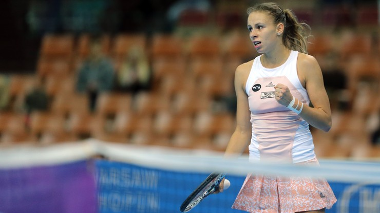 WTA w Lexington: Awans Magdy Linette do II rundy