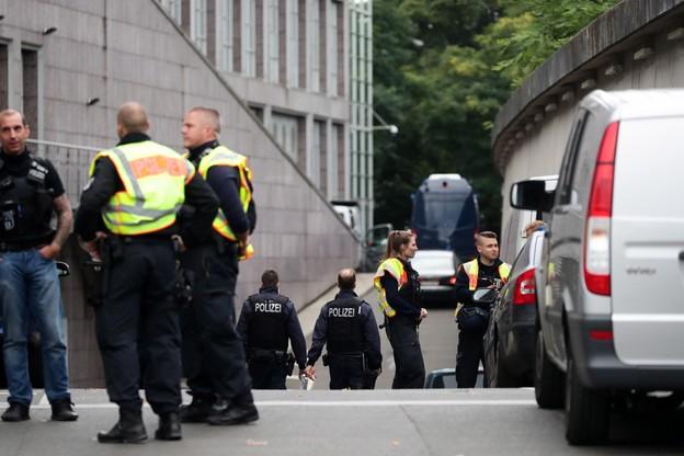 Napad na bank w Berlinie. Wielka akcja policji