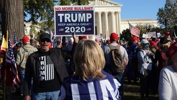 Marsz sympatyków Trumpa w Waszyngtonie. Doszło do starć